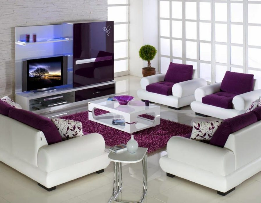 Awesome-grey-and-purple-living-room-HD9J21-
